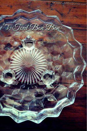 Fostoria| American | 3-Toed Bon Bon