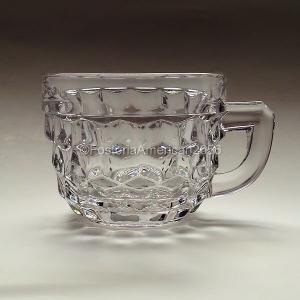 Fostoria American Punch Cup, Flat Handle, Regular