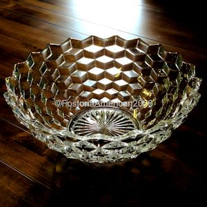 Fostoria | American Footed Bowl - 10""