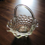Fostoria | American | Glass Handled Basket