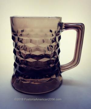 Fostoria | American | Beer Mug/Tankard - Brown