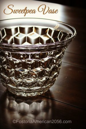 Fostoria | American | SweetPea Vase