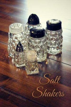 Fostoria | American | Salt Shakers | A variety to choose from, and more.