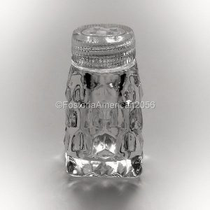 Fostoria | American | Individual Shaker Square | Glass Top