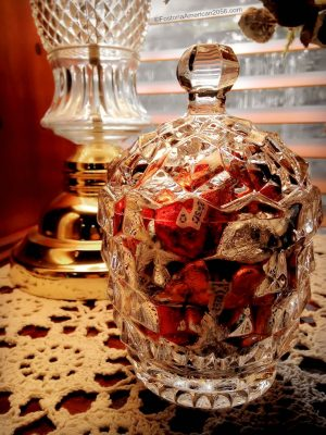 Fostoria | American | Candy Jar and Cover