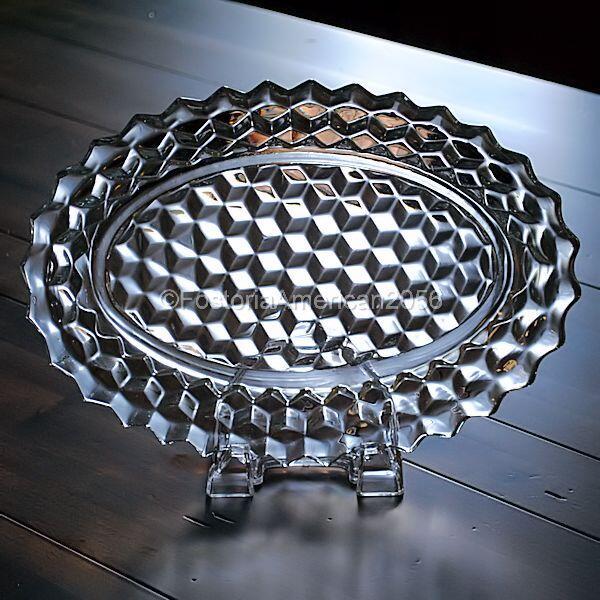 "Fostoria | American | Oval Platter - 12"""