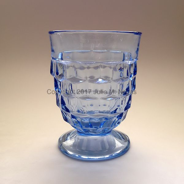 Vintage Dishes | American Whitehall Beverage - Blue