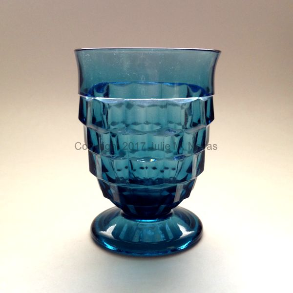 Vintage Dishes | Whitehall Beverage - Riviera Blue