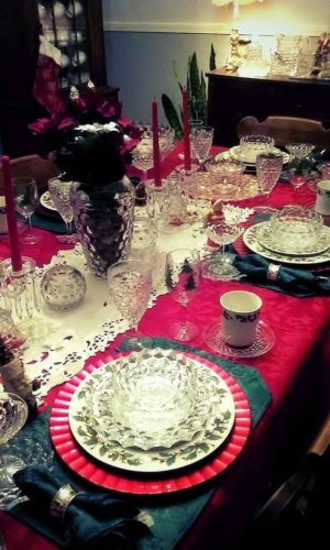 Fostoria American for the Holidays - Treena's Table