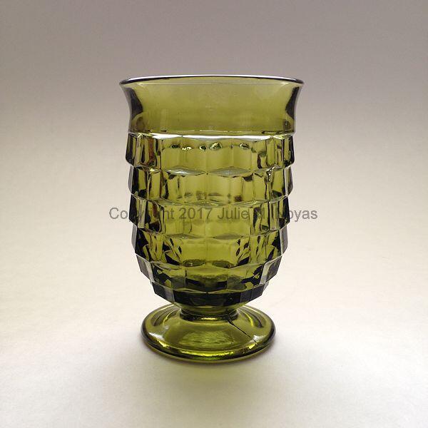 Vintage Dishes | Whitehall Juice - Olive