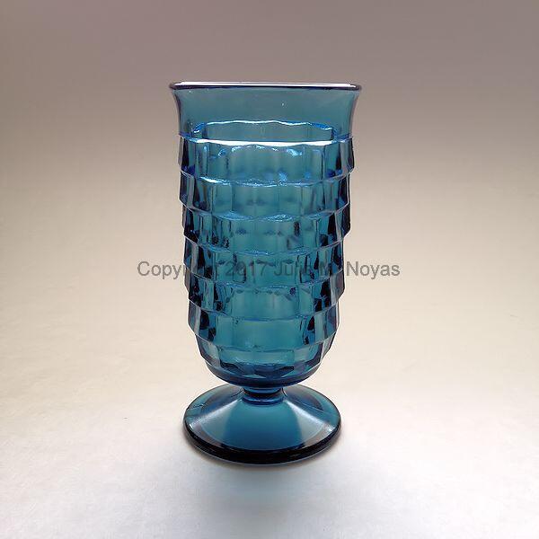 Vintage Dishes | Whitehall Parfait - Riviera Blue