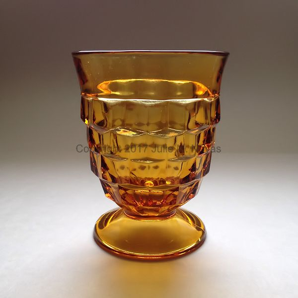 Vintage Dishes | Whitehall Tumbler/Water - Gold