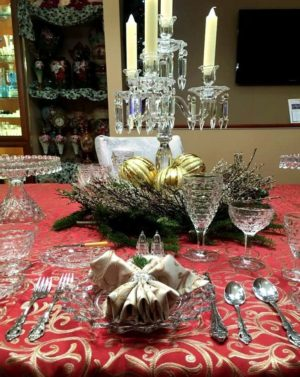 Fostoria American for the Holidays - Place Setting