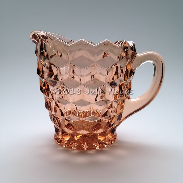 Vintage Dishes | American Whitehall Creamer - Peach