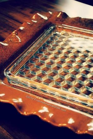 Fostoria | American | Square Tray Combo