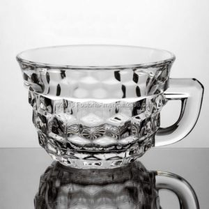 Fostoria | American | Punch/Custard Cup - Flared - Flat Handle