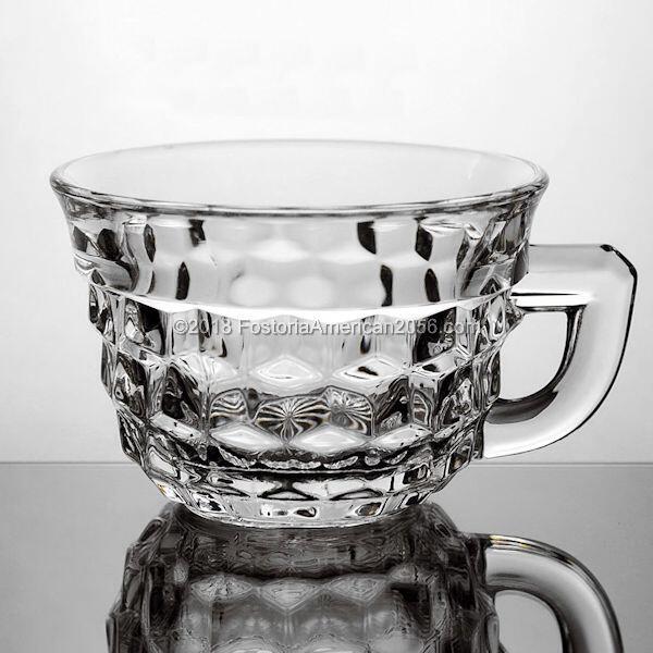 Fostoria | American | Punch/Custard Cup - Flared - Flat Handle