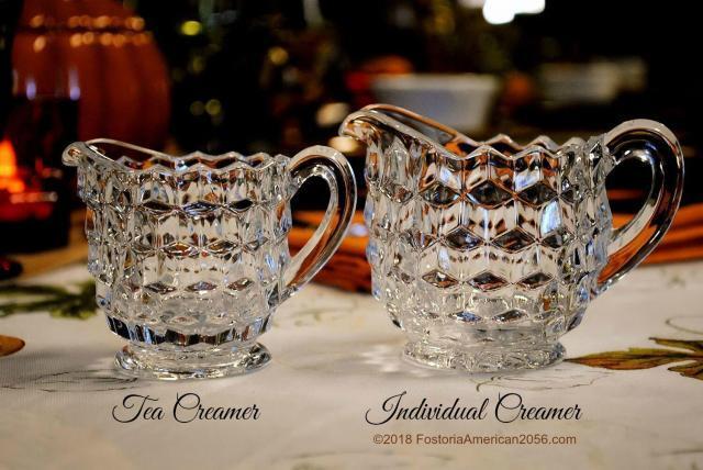 Fostoria | American | Tea and Individual Creamers