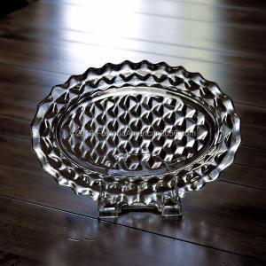 "Fostoria   American   Oval Platter 10½"""