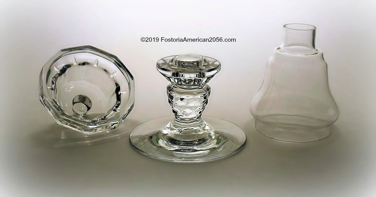 Fostoria | American | Candle Lamp Parts