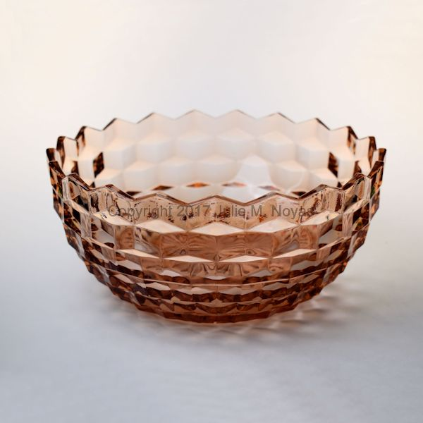 American Whitehall Salad/Fruit Bowl - Peach