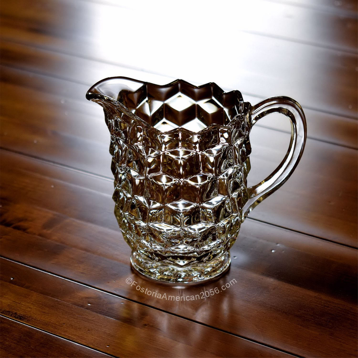 Fostoria American Pint Cereal Pitcher