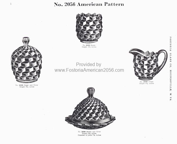 Fostoria American 1915 Catalog