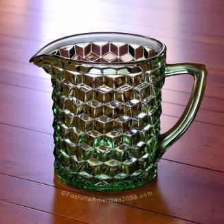Fostoria American Ice Jug - Green