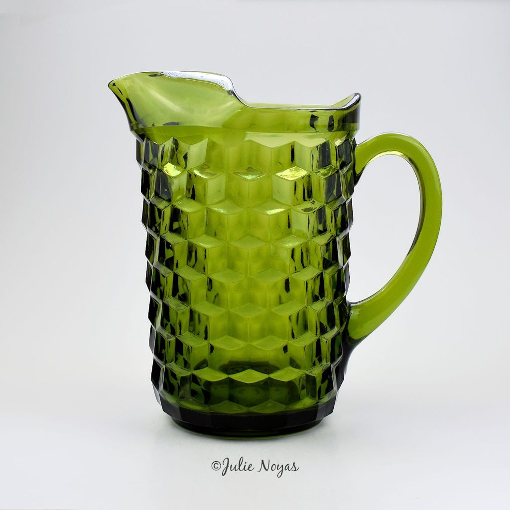 Whitehall Pitcher - Olive