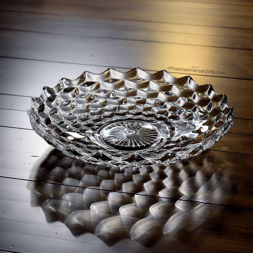 Fostoria American Shallow Fruit Bowl