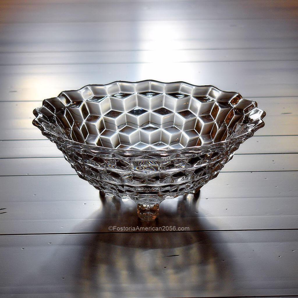 Fostoria American 3-Toed Bowl