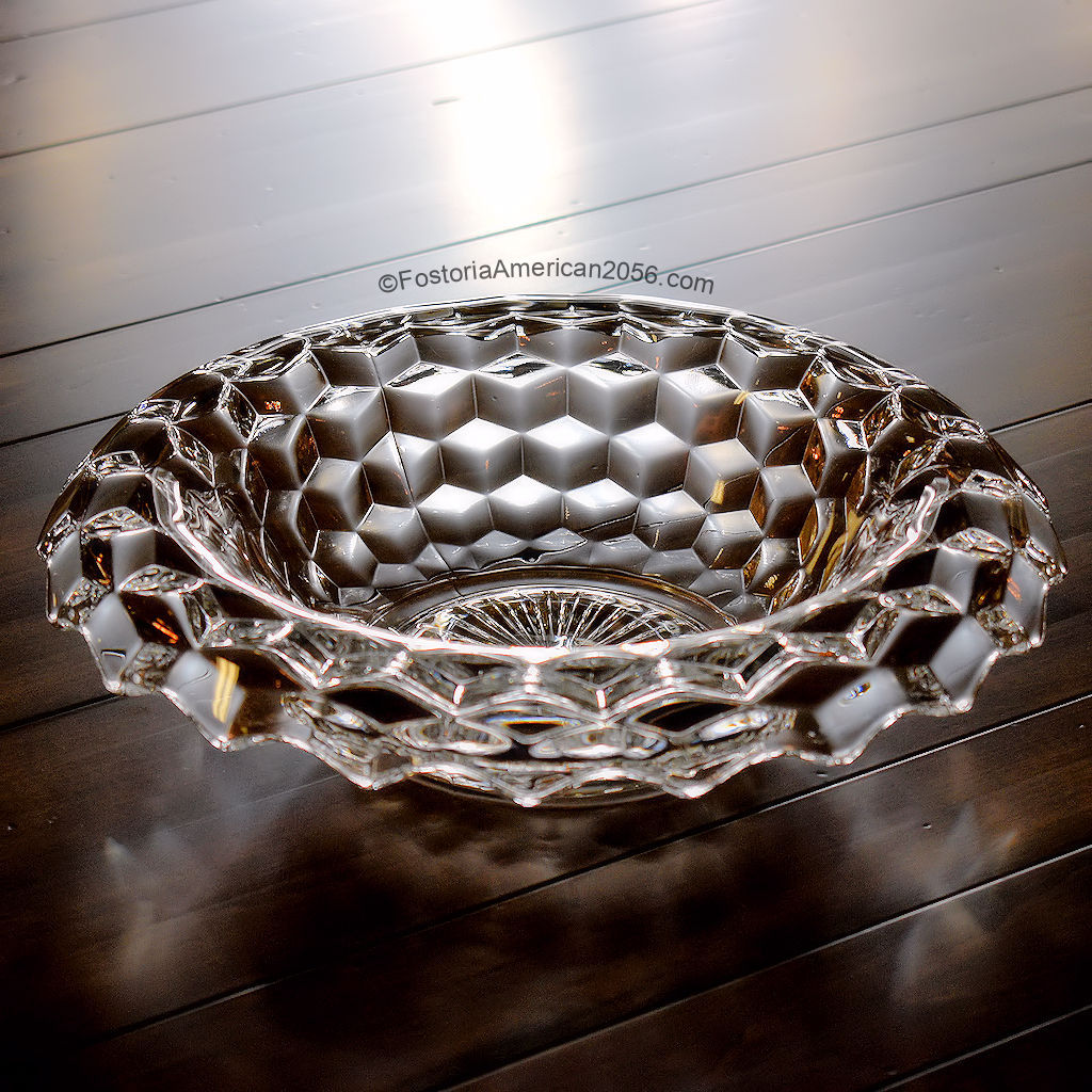 Fostoria American Rolled Edge Bowl