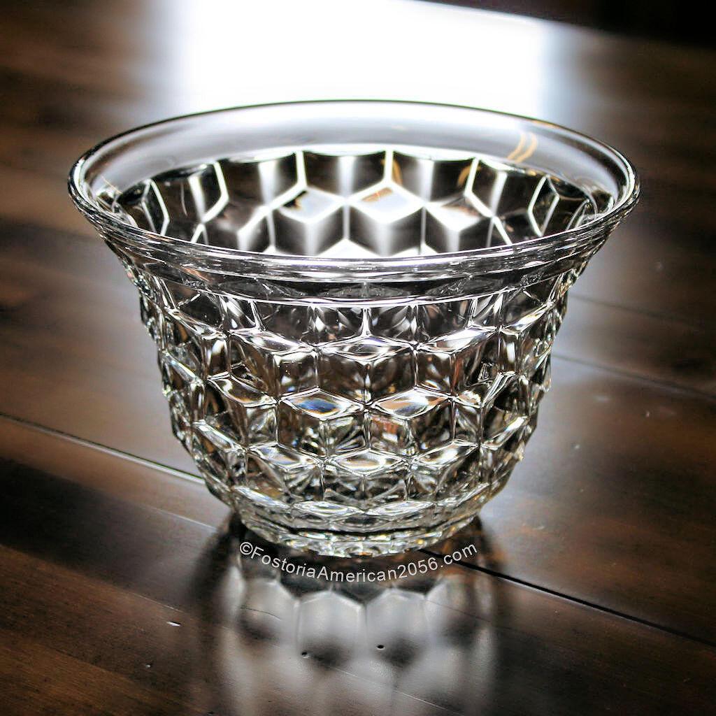 Fostoria American Sweetpea Vase