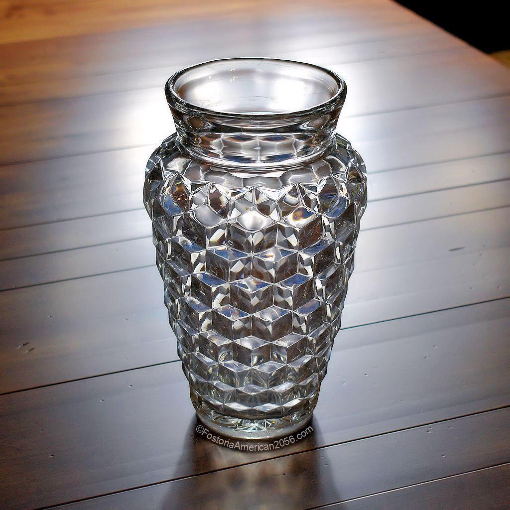 Fostoria American Bagged Vase