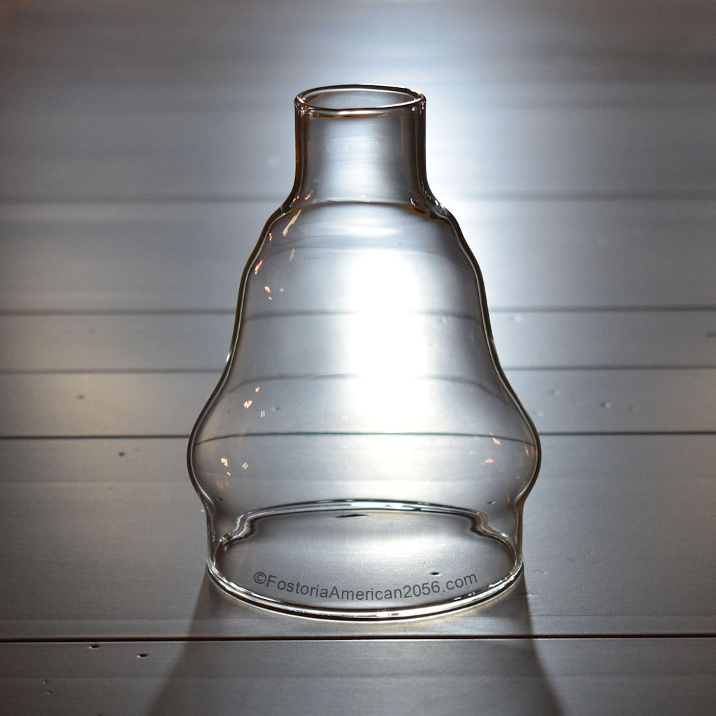 Fostoria American Candle Lamp Chimney