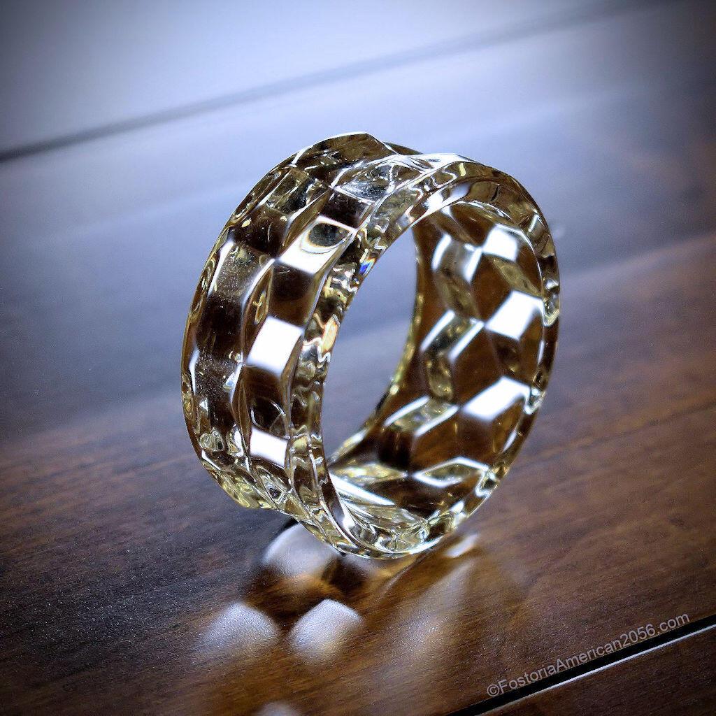 Fostoria American Napkin Ring