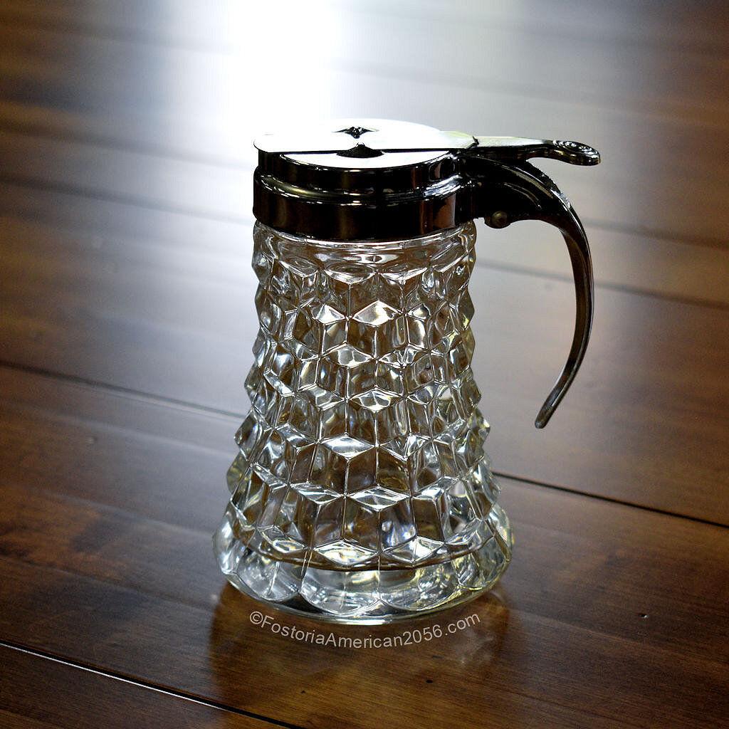 Fostoria American Dripcut Syrup