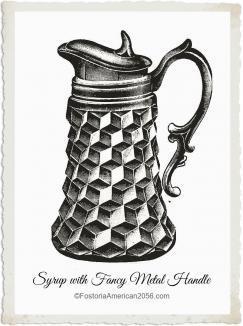 Fostoria American Syrup