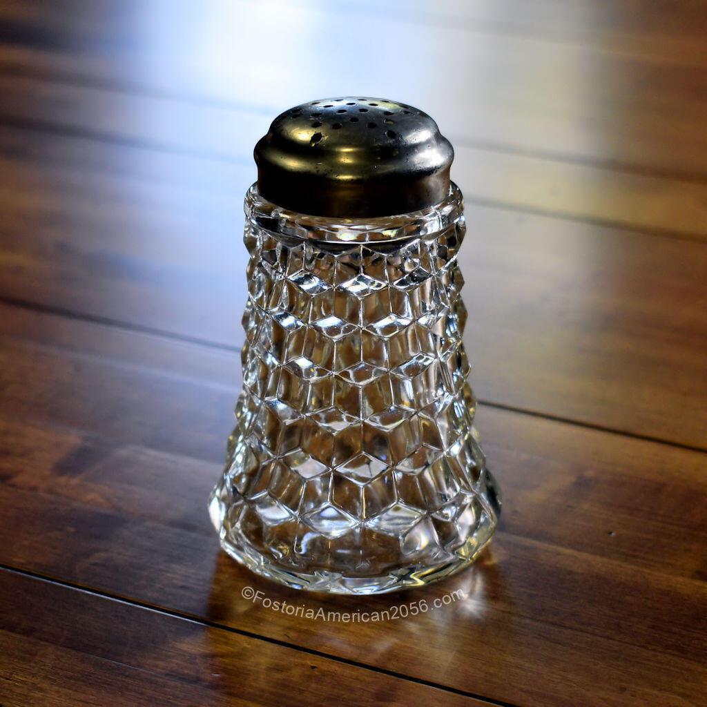 Fostoria American Sugar Shaker - HNT